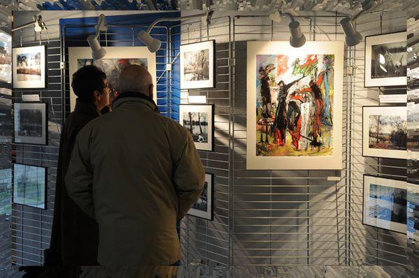 exposition à Santeny ( Val de Marne ) Didier Simonnet-----