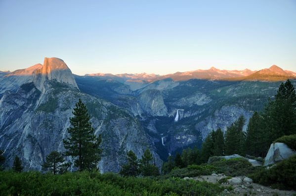 Yosemite - Glacier Point - Half Dome - Clark Range