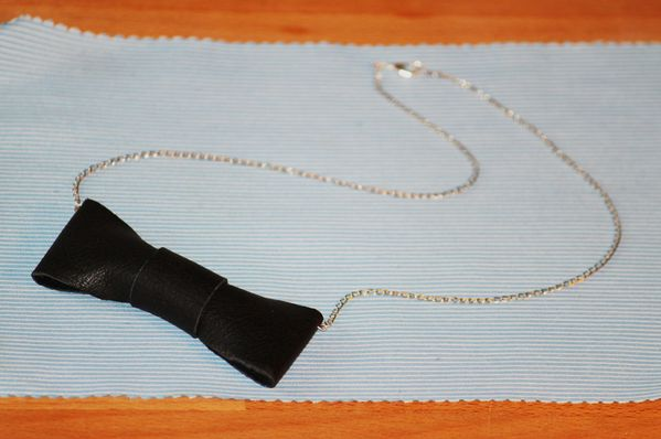 collier noeud 01