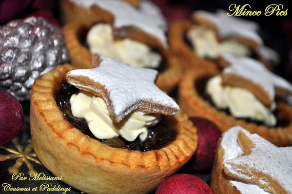 mince pies ou tartes aux fruits secs