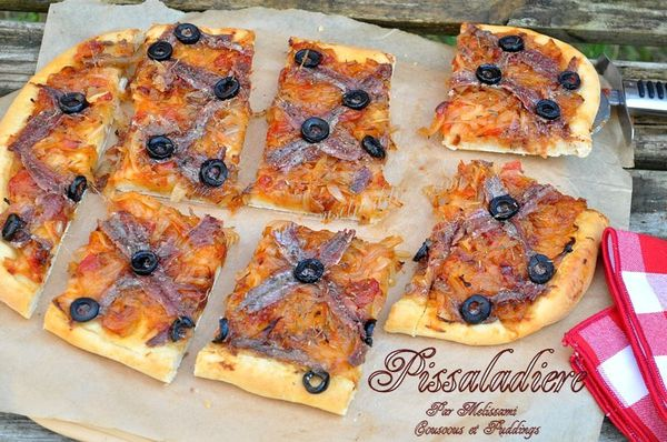 pissaladiere tarte oignons anchoix olives