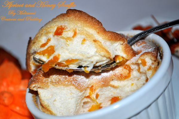 honey and apricot souffle