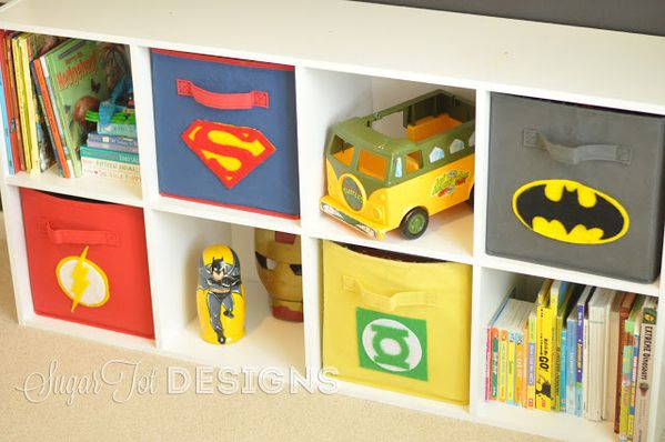 d coration chambre garcon super heros. Black Bedroom Furniture Sets. Home Design Ideas