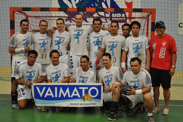 Equipe masculine Champion 2011 bis