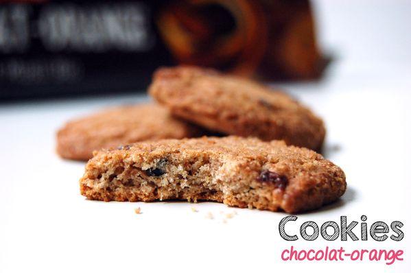 Vitabio / Box La Réconfortée / Let's go healthy / cookies chocolat orange