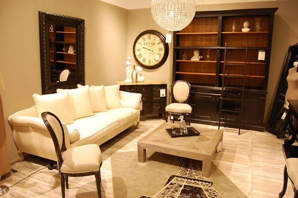 salon maison du monde elegant modern copper decor trend. Black Bedroom Furniture Sets. Home Design Ideas