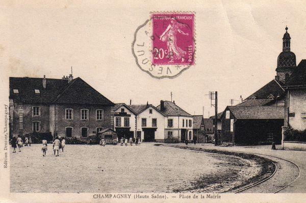 CP pl de la mairie