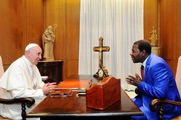 Boni Yayi répond à l'Eglise Catholique
