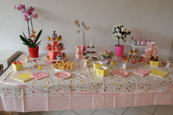 Assez My first Sweet Table - Flowersfood, les gourmandises de Violaine FR61