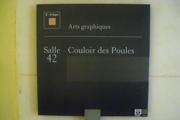 cartel couloir poules