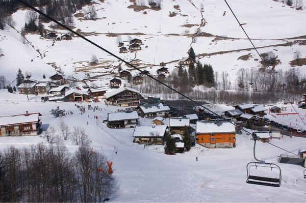 Le Planay areches ski neige25