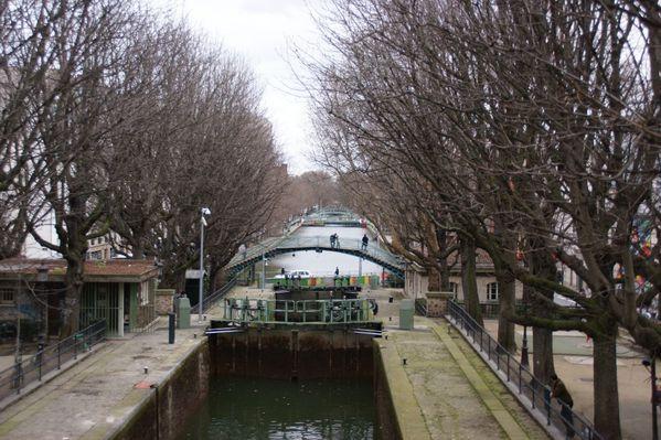 promenade paris-10-11 canal st martin ecluses