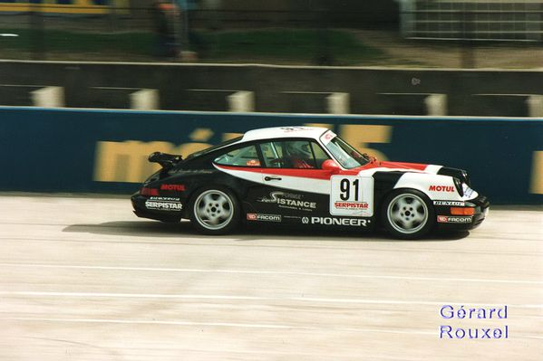 A 85 Porsche Cup Bordas Montlhéry avril 1993 Coupes de