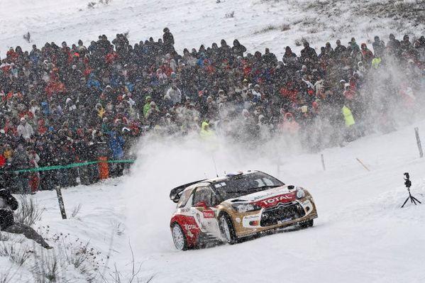 sébastien Loeb Citroen DS3 Rallye Monte-Carlo WRC 2013
