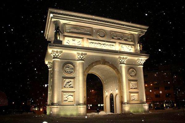Arc de Triomphe-Portra Makedonija 1