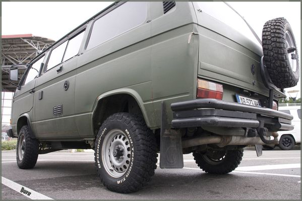 davw t3 syncro army mud