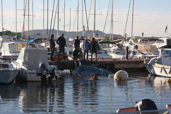 Corse 761 Retour à la surface.