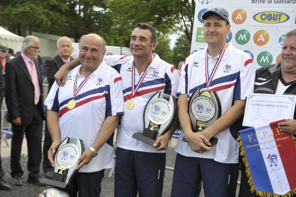 petanque championnats de france triplettes finale