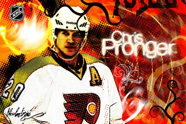 Affiche-Chris-Pronger-Philadelphie-2011