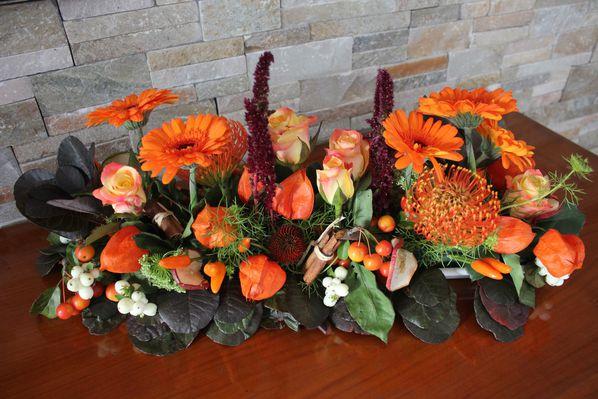 Compositions florales le blog de la gildasienne - Composition florale automne ...