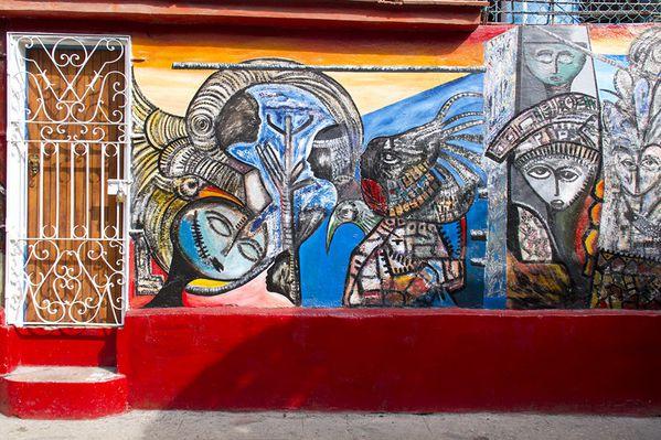 Cuba, la Havane, Callejon de Hamel