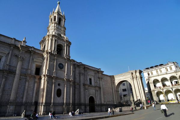 Arequipa cathédrale