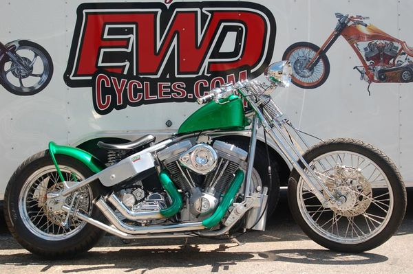 2011 bikes Candy Green Bobber 003 www.ewdcycles.com
