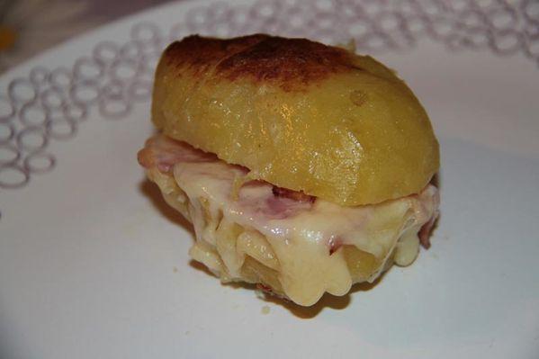 croque monsieur de pommes de terre jambon fromage les petits plats de patchouka. Black Bedroom Furniture Sets. Home Design Ideas