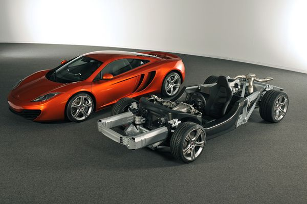MP4-12C&chassis