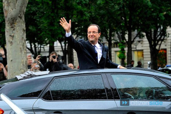 Citroën DS5 Hybride François Hollande 02