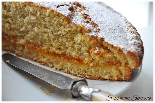 Dessert confiture abricot