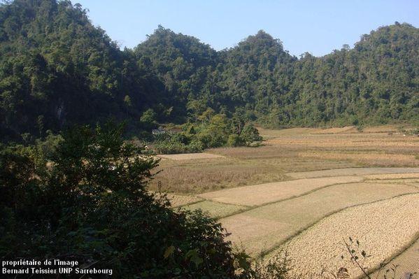 2012- dans les environs de Dong Khé, les calcaires de Coc