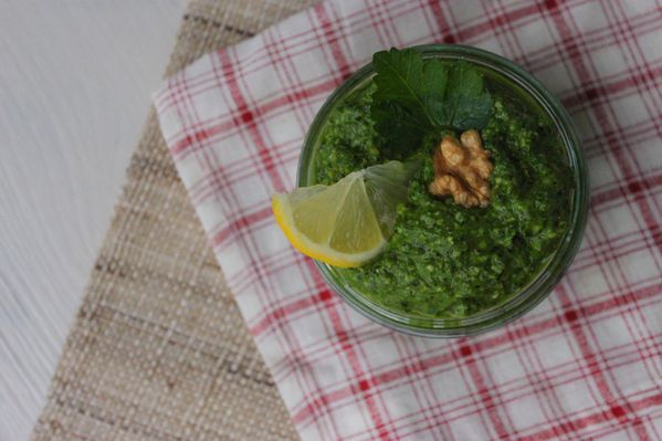 pesto persil ail des ours