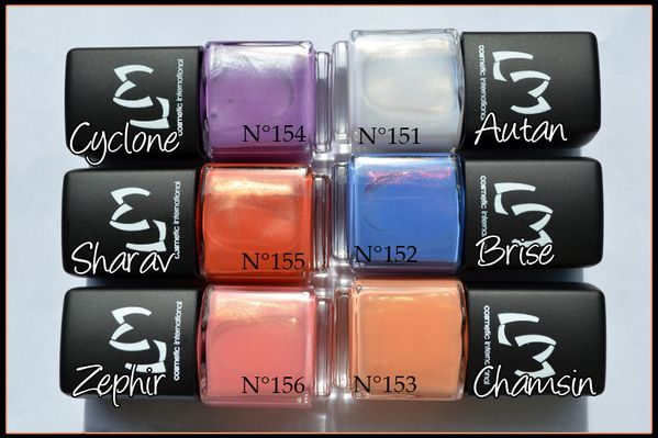 Nouvelle collection vernis