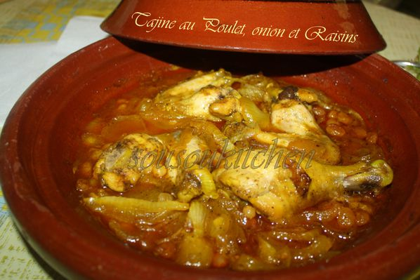 Tajine poulet oignons et raisins de Hamid pic (4)