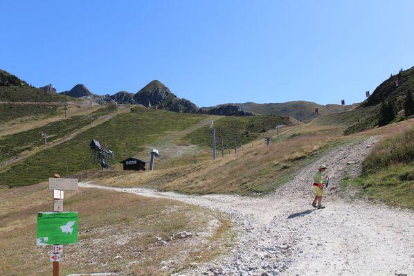 domaine ski l'été