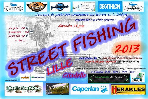 Fredlebaron Streetfishing Lille 2013 Ecogear Reins Delalande St croix Shimano Ultimate