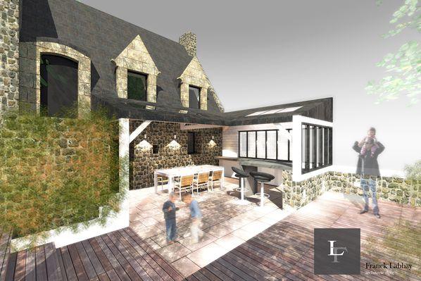 maison b construction d 39 un pr au en bois r agencement int rieur et ext rieur carnac. Black Bedroom Furniture Sets. Home Design Ideas
