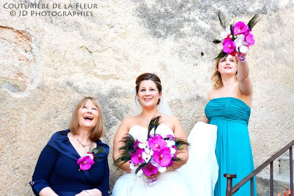 French florist for english wedding - French castle (1)