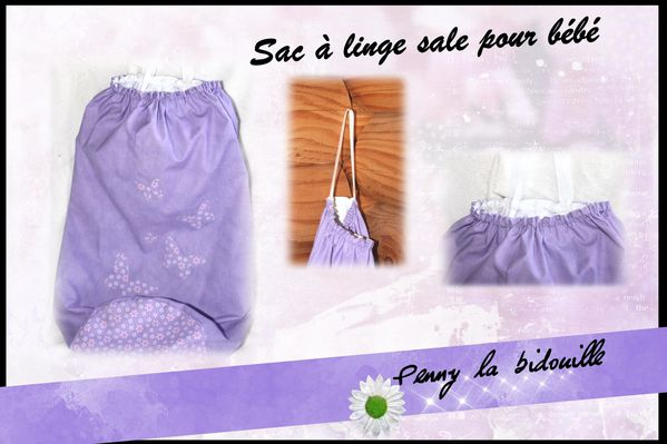 sac linge sale pour b b le blog de penny la bidouille. Black Bedroom Furniture Sets. Home Design Ideas