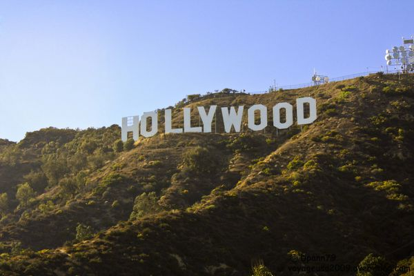 Los Angeles - Hollywood Sign - 01