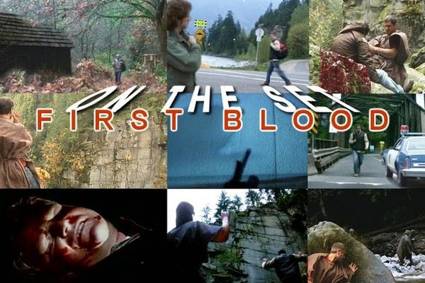 ON THE SET - FIRST BLOOD