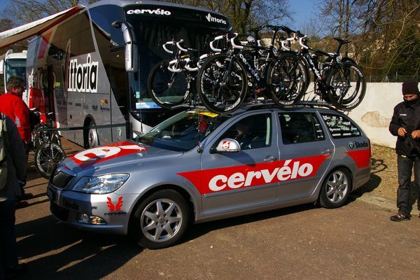 Paris-Nice 2010 Cervelo Test Team