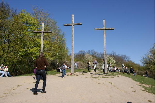 Kazimierz dolny trois croix gora krzyzowa pologne (14)