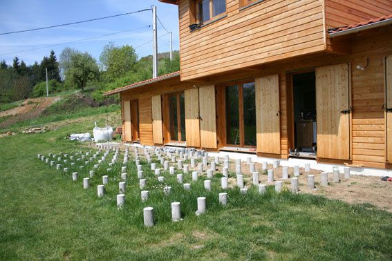 301 moved permanently - Terrasse en bois sur plot beton ...