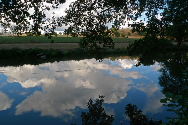 Reflet nuages 2