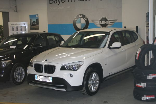 ma nouvelle voiture bmw x1 glandouillage. Black Bedroom Furniture Sets. Home Design Ideas