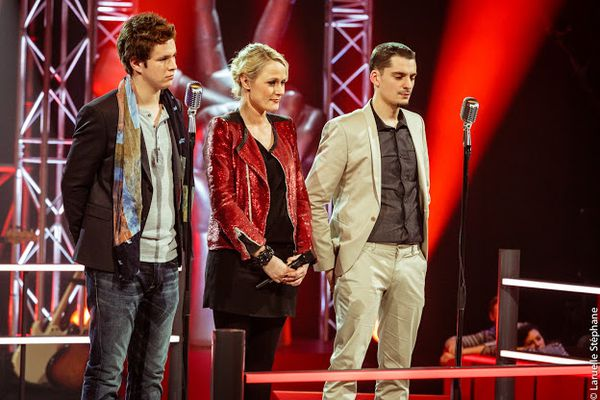 "The Voice Belgique 2 - le duo Cyriaque vs David - dans le mythique ""La nuit"" d'Adamo"