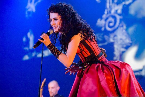 Sharon den Adel at Black Symphony in Rotterdam