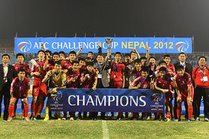 dpr korea champions afc challenge cup nepal 2012